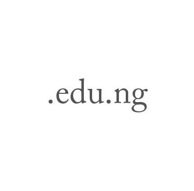 Top-Level-Domain .edu.ng