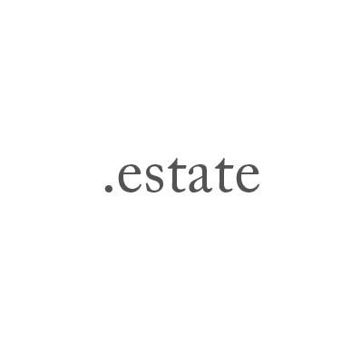 Top-Level-Domain .estate