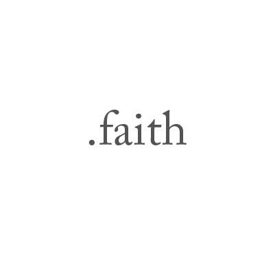 Top-Level-Domain .faith