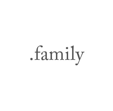 Top-Level-Domain .family