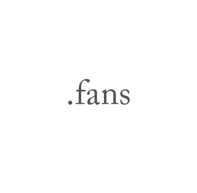Top-Level-Domain .fans