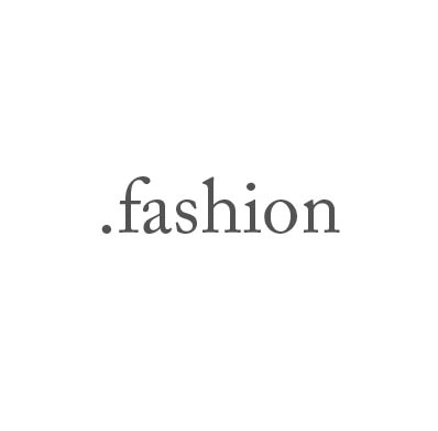 Top-Level-Domain .fashion