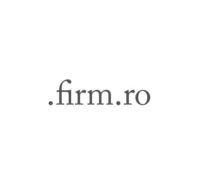 Top-Level-Domain .firm.ro