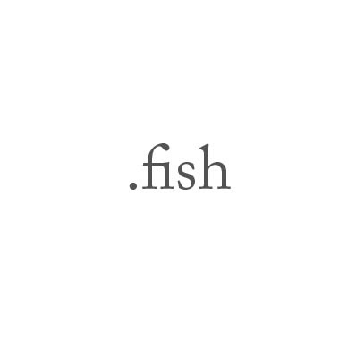Top-Level-Domain .fish