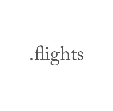 Top-Level-Domain .flights