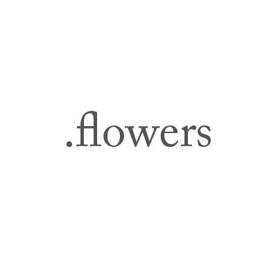 Top-Level-Domain .flowers