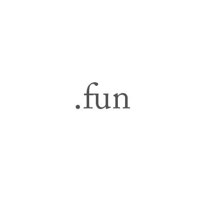Top-Level-Domain .fun