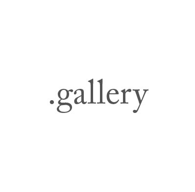 Top-Level-Domain .gallery