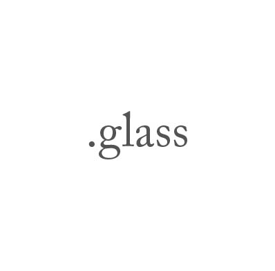 Top-Level-Domain .glass
