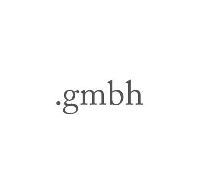 Top-Level-Domain .gmbh