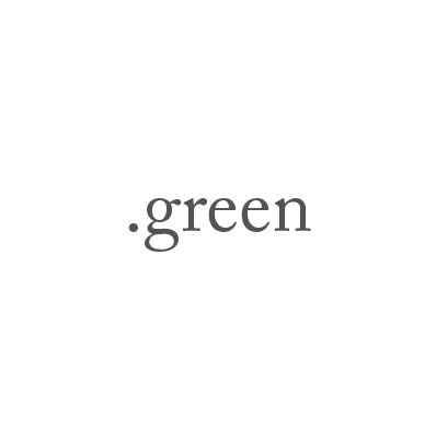 Top-Level-Domain .green