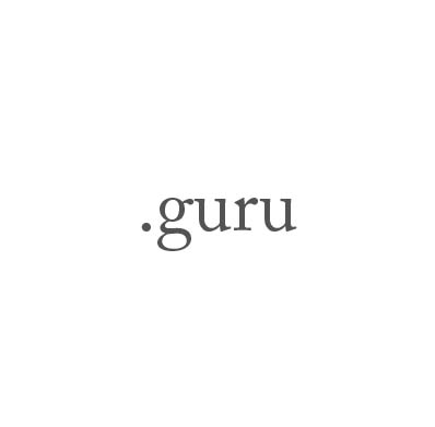 Top-Level-Domain .guru