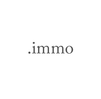 Top-Level-Domain .immo