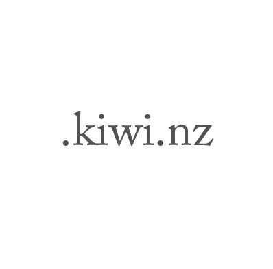 Top-Level-Domain .kiwi.nz