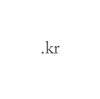 Top-Level-Domain .kr