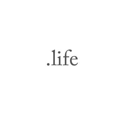 Top-Level-Domain .life