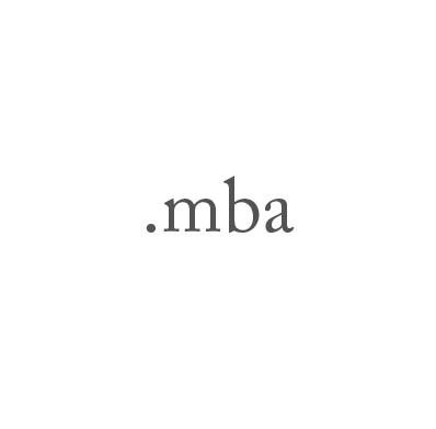 Top-Level-Domain .mba