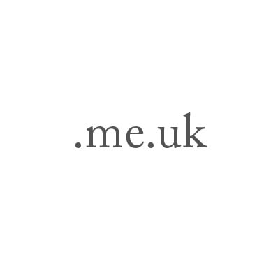 Top-Level-Domain .me.uk