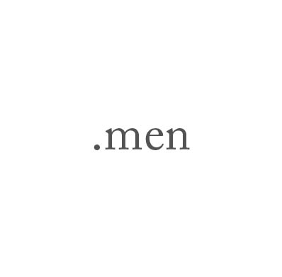Top-Level-Domain .men