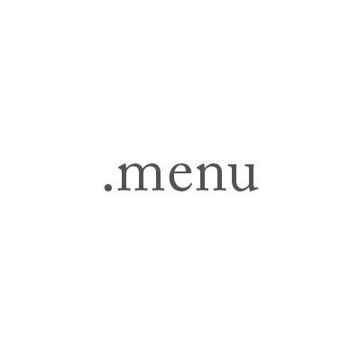 Top-Level-Domain .menu