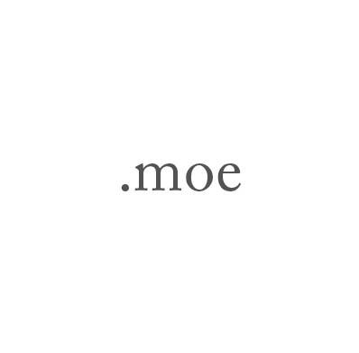 Top-Level-Domain .moe