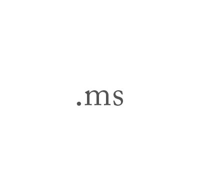 Top-Level-Domain .ms