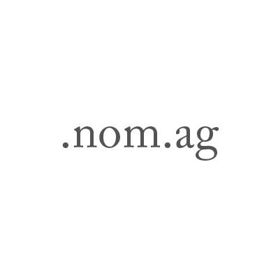Top-Level-Domain .nom.ag