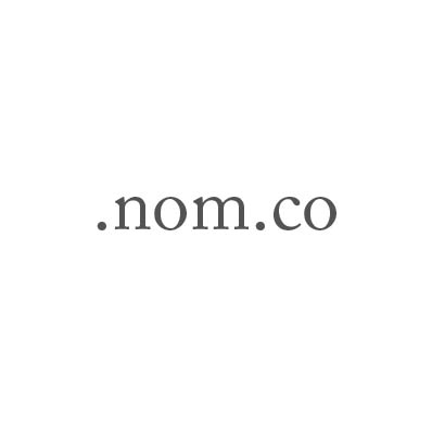 Top-Level-Domain .nom.co