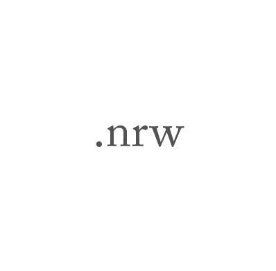 Top-Level-Domain .nrw