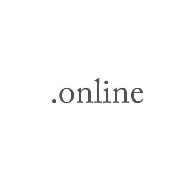 Top-Level-Domain .online