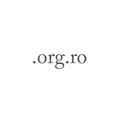 Top-Level-Domain .org.ro