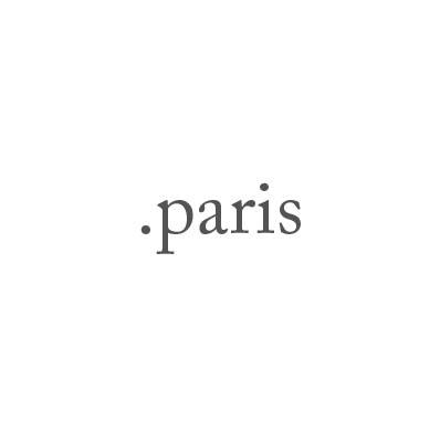 Top-Level-Domain .paris