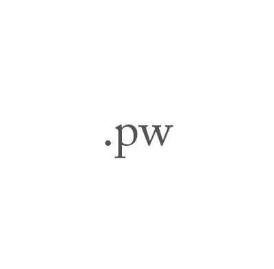Top-Level-Domain .pw
