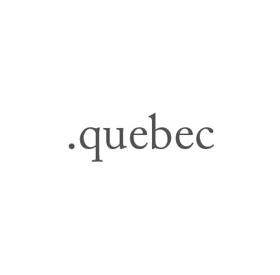 Top-Level-Domain .quebec