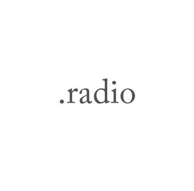 Top-Level-Domain .radio