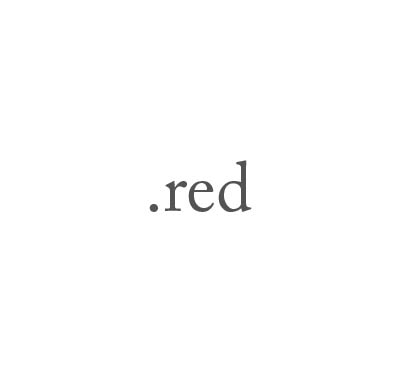 Top-Level-Domain .red