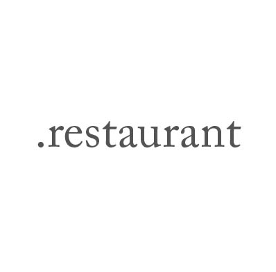 Top-Level-Domain .restaurant
