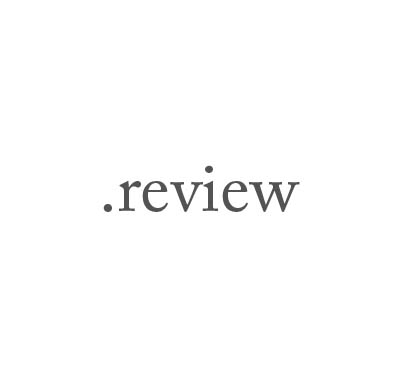 Top-Level-Domain .review
