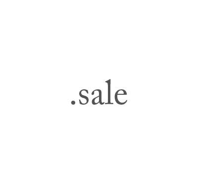 Top-Level-Domain .sale