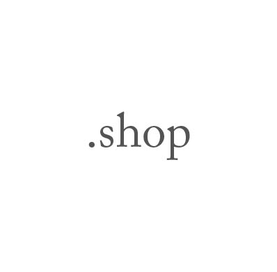 Top-Level-Domain .shop