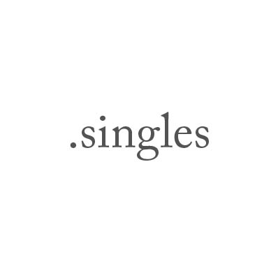 Top-Level-Domain .singles