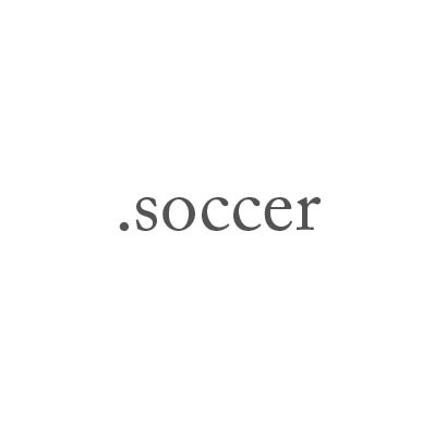 Top-Level-Domain .soccer