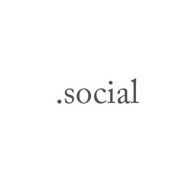 Top-Level-Domain .social
