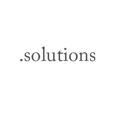 Top-Level-Domain .solutions