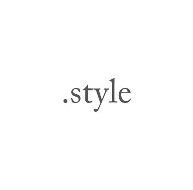 Top-Level-Domain .style