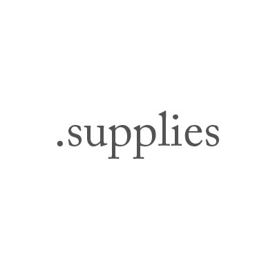 Top-Level-Domain .supplies