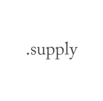 Top-Level-Domain .supply