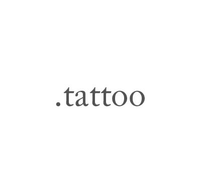 Top-Level-Domain .tattoo