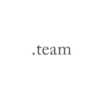 Top-Level-Domain .team