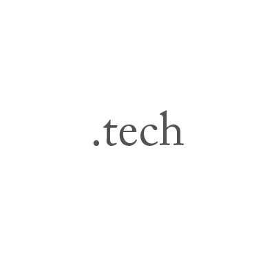 Top-Level-Domain .tech